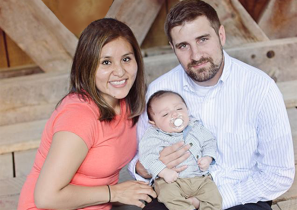 張牧師和他的家人:麗莎和億恩