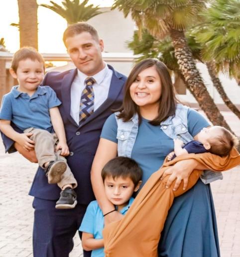 張牧師和家人